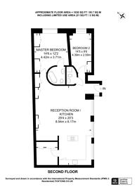 Large floorplan for Richmond Mews, Soho, W1D