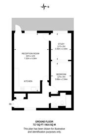 Large floorplan for Southern Way, Greenwich Millennium Village, SE10
