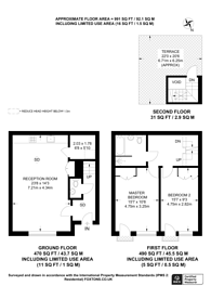 Large floorplan for Richborne Terrace, Vauxhall, SW8