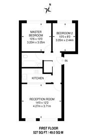 Large floorplan for Cleveland Grove, Stepney, E1