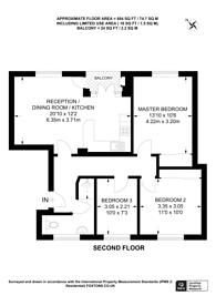 Large floorplan for Vermont Road, Wandsworth, SW18
