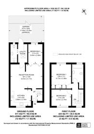 Large floorplan for Shortway, North Finchley, N12