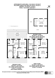 Large floorplan for Auckland Close, Crystal Palace, SE19