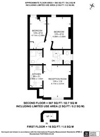 Large floorplan for Croydon Road, Anerley, SE20