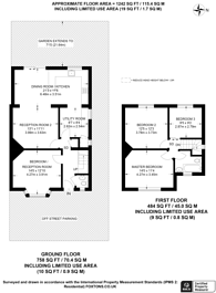 Large floorplan for Heston Road, Hounslow, TW5