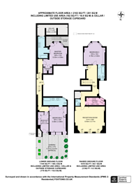 Large floorplan for Green Street, Mayfair, W1K