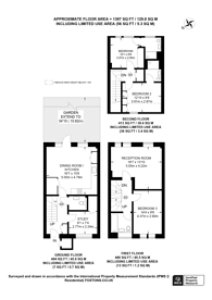 Large floorplan for Artisan Place, Harrow Weald, HA3