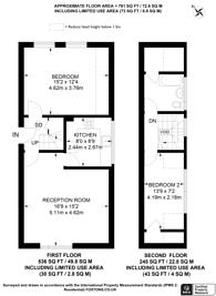 Large floorplan for Stanhope Road, Highgate, N6