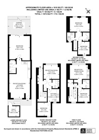 Large floorplan for Warwick Road, West Kensington, W14