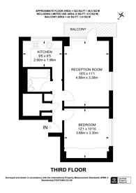 Large floorplan for Newton Street, Covent Garden, WC2B