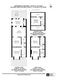 Large floorplan for Biddestone Road, Islington, N7