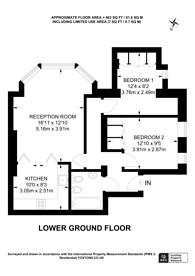 Large floorplan for Adamson Road, Belsize Park, NW3