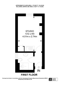 Large floorplan for Crondace Road, Parsons Green, SW6