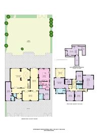 Large floorplan for Parkside Gardens, Wimbledon Village, SW19