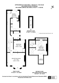 Large floorplan for Ancona Road, Kensal Green, NW10