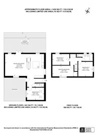 Large floorplan for Russia Dock Road, Canada Water, SE16