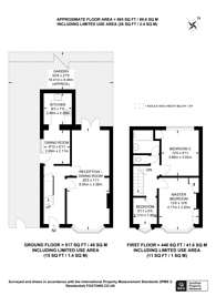 Large floorplan for Boundaries Road, Feltham, TW13