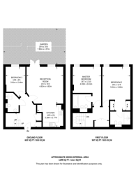 Large floorplan for Enfield Road, Islington, N1
