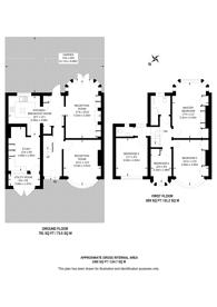 Large floorplan for Croft Road, Norbury, SW16