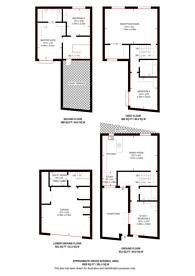 Large floorplan for Boundary Road, St John's Wood, NW8