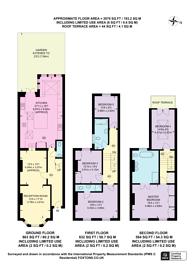 Large floorplan for St Stephens Terrace, Stockwell, SW8