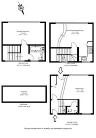 Large floorplan for Shacklewell Street, Shoreditch, E2