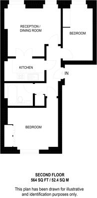 Large floorplan for Nottingham Place, Baker Street, W1U