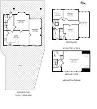 Large floorplan for Hollyfield Avenue, Friern Barnet, N11