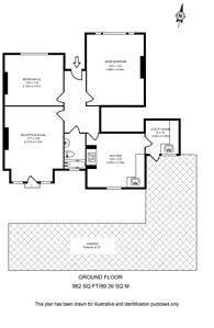 Large floorplan for Madeira Road, Streatham, SW16