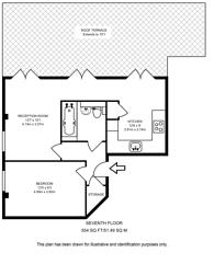 Large floorplan for Athlone Street, Kentish Town, NW5