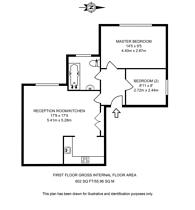 Large floorplan for Hollycroft Avenue, Hampstead, NW3