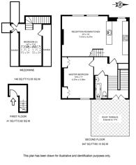 Large floorplan for Queenstown Road, Battersea, SW8
