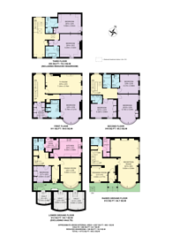 Large floorplan for Upper Brook Street, Mayfair, W1K