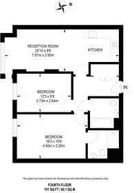 Large floorplan for Point Pleasant, Wandsworth, SW18