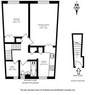 Large floorplan for Wynford Road, Islington, N1