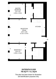 Large floorplan for Leon House, Croydon, CR0