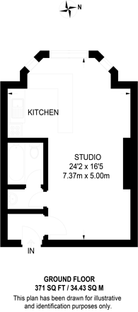 Large floorplan for Warrington Crescent, Little Venice, W9