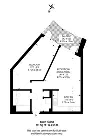 Large floorplan for High Street Quarter, Hounslow, TW3