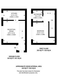 Large floorplan for Rabournmead Drive, Northolt, UB5