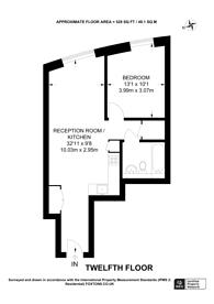 Large floorplan for Walworth Road, Southwark, SE1