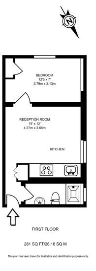 Large floorplan for Cricklewood Broadway, Cricklewood, NW2