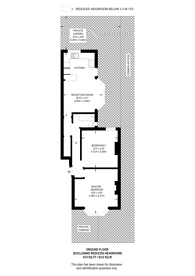Large floorplan for Brownhill Road, Catford, SE6