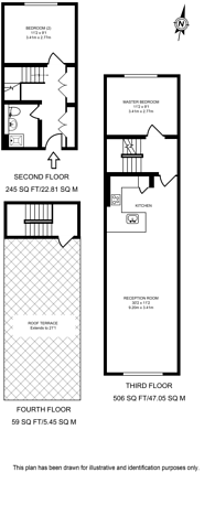 Large floorplan for Claudia Place, Southfields, SW19