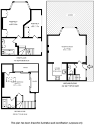 Large floorplan for Limes Avenue, Golders Green, NW11