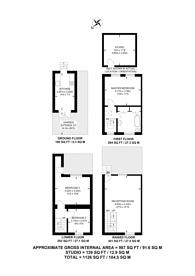 Large floorplan for Larkhall Lane, Stockwell, SW4