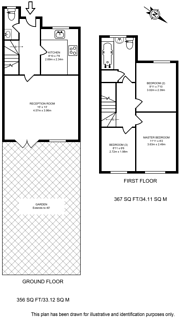 Large floorplan for Brent Terrace, Cricklewood, NW2