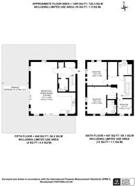 Large floorplan for Trinity Way, Acton, W3