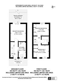 Large floorplan for Gables Close, Lee, SE12
