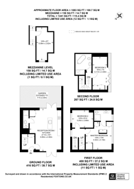 Large floorplan for Empress Mews, Camberwell, SE5