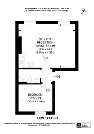 Large floorplan for Old Brompton Road, South Kensington, SW5